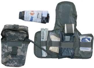 Military Supply House - IFAK - Individual First Aid Kit - First Aid Kits