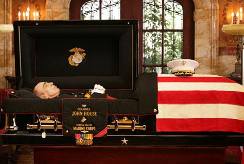 Military Service Dog Coffin