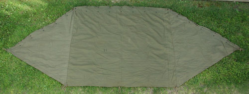 Half Shelter Tent : Military supply house u s sleeping bags tents