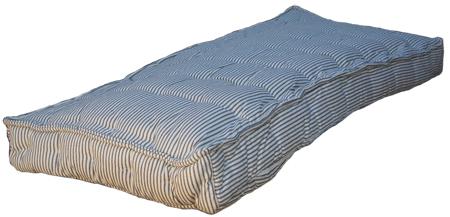 Vintage Blue Stripe Mattress