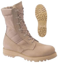 Military Supply House U.S. Military Approved Combat Boots - G.I. ...