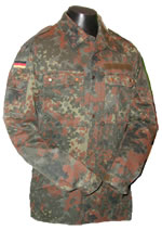 German Flectarn Camouflage Shirt