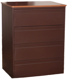4 Drawer Metal Chest