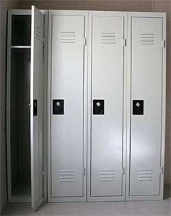locker room lockers