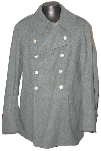 Military Supply House - Swiss Double Breasted Coat Wool
