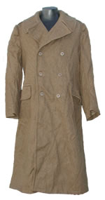 Greek Wool Overcoat