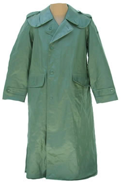 Swiss Vinyl Rain Overcoat