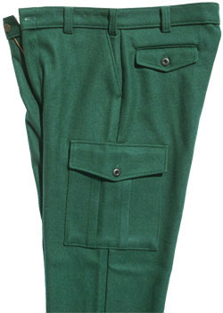 Military Supply House - Wool Military Style Pants , 6 Pocket BDU ...